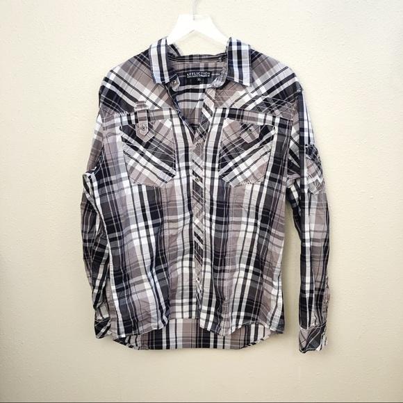 Affliction Other - Affliction Button Down Shirt Sz XL